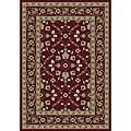 Anoosha Isfahan Red Rug (3'11 x 5'3)