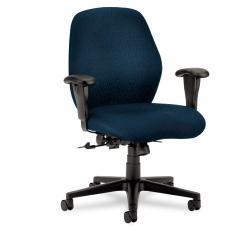 HON 7800 Series Blue Mid-Back Task Chair
