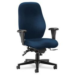 HON 7800 Series Blue High-Back Executive Task Chair