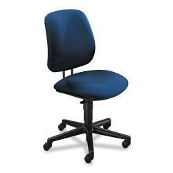 HON 7700 Series Blue Cushioned Swivel Task Chair