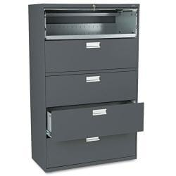 HON 600 Series 42-Inch Wide Gray Lateral File
