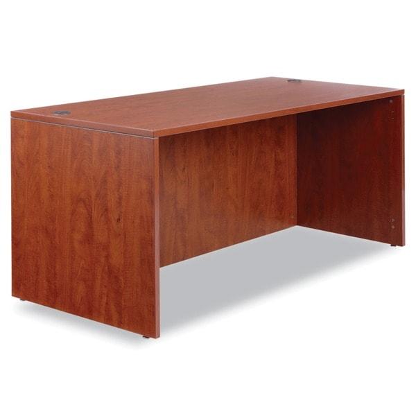 Alera Valencia Series Medium Cherry Desk Shell 12341140
