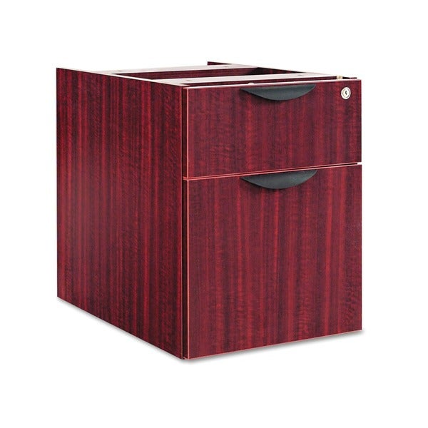 Alera Valencia Series Three-Quarter Pedestal File