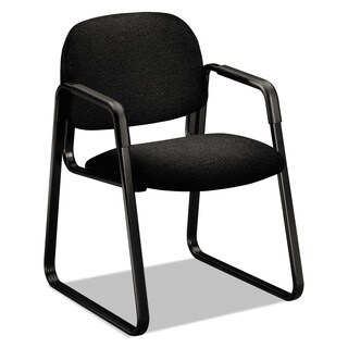HON Solutions Seating Cushioned Sled-Base Guest Chair