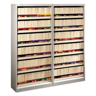 HON 600 Series Open Shelf File with Dividers