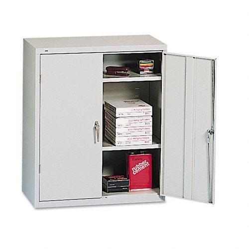 Hon Assembled 42 Inch High Two Door Storage Cabinet