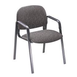 HON Solutions Seating Leg Base Checkered Chenille Guest Chair