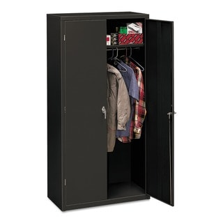 HON Assembled 72-Inch High 24-Inch Deep Storage Cabinet