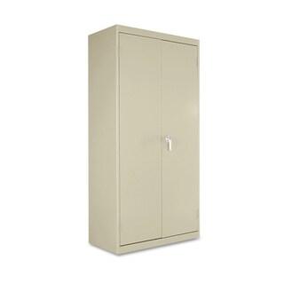Alera Economy Assembled Storage Cabinet, Putty