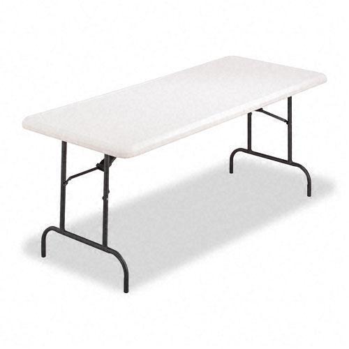 Alera Resin Rectangular Durable Folding Table