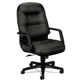 HON 2090 Pillow Soft High Back Leather Chair