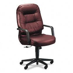 HON 2090 Pillow-Soft High Back Leather Chair