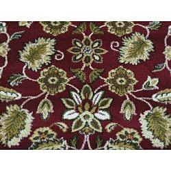 Anoosha Persian Garden Red Rug (5'3 x 7'7)