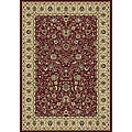 Anoosha All Over Sarouk Red Rug (5'3 x 7'7)
