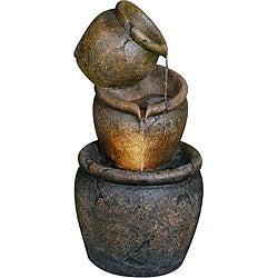 Venice 27-inch Lighted Zen Fountain