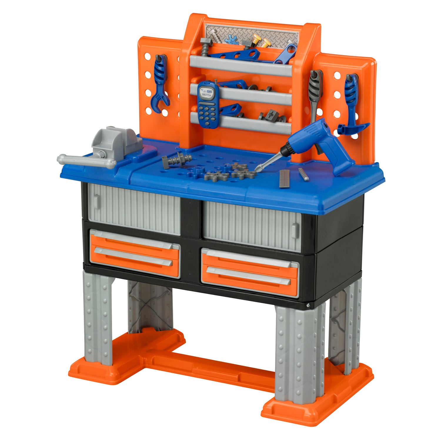 Toy Tools For Boys : Toy work bench for toddlers kids play set tools pretend