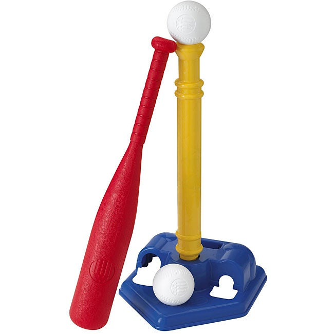 American Plastic Toy T-ball Set