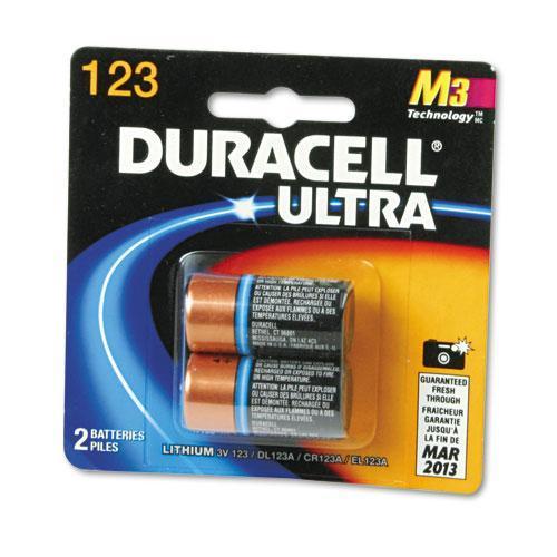 Duracell Ultra High Power 123 3v Lithium Battery Pack Of