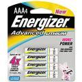 Energizer Advanced Lithium AAA Batteries (Pack of 4)
