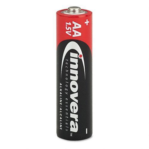 Innovera Alkaline AA Batteries (Case of 24)