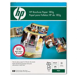 HP Inkjet Brochure Paper, Bright White (Case of 150 Sheets)