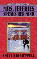 Mrs. Jeffries Speaks Her Mind (Paperback)