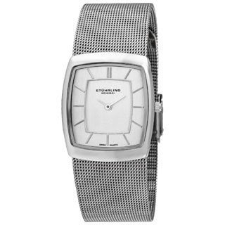 Stuhrling Original Unisex Chateau de Chantility Silver Watch