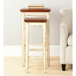 Safavieh Antiqued Lynne Nesting Tables (Set of 2)