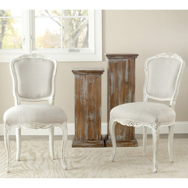 Safavieh Old World Dining Provence Antiqued French Side Chairs (Set of 2)