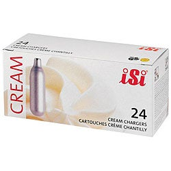 ISI North America Cream Chargers (Case of 24)
