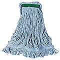 Rubbermaid Commercial Medium Blue Looped 1-in Mop Head
