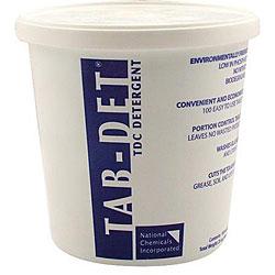 National Chemicals TDC Detergent Tablet (Case of 100)