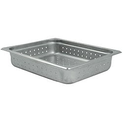 Challenger 2.5 Inch Deep Perforated Half Size Pan