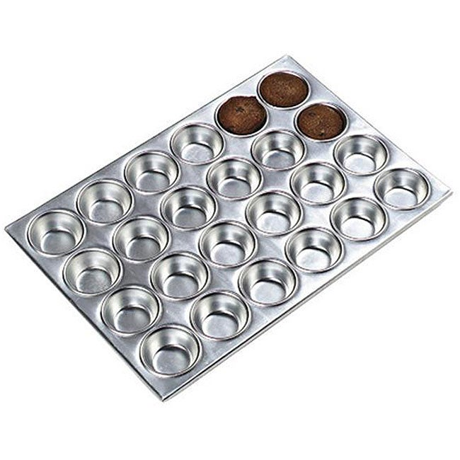 Carlisle Foodservice 24 Cup Aluminum Muffin Pan