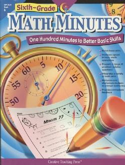 Sixth-Grade Math Minutes (Paperback)