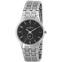 Skagen Men's Water-Resistant Stainless-Steel Watch