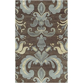 Transitional Hand-Tufted Spirit New Zealand Wool Rug (5' x 8')