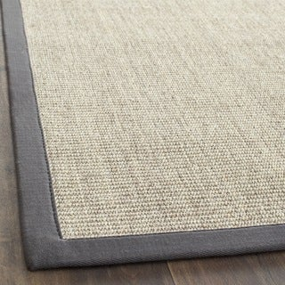 Hand-woven Serenity Marble/ Grey Sisal Rug (3' x 5')