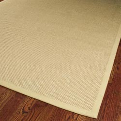 Hand-woven Resorts Natural/ Beige Fine Sisal Rug (6' x 9')