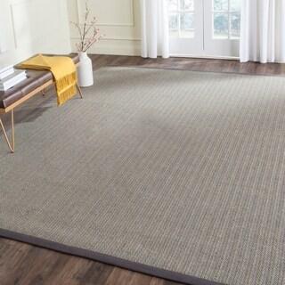 Safavieh Hand-woven Natural Fiber Uni Grey Fine Sisal Runner (2'6 x 8')