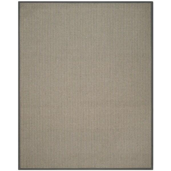 Safavieh Hand-woven Natural Fiber Uni Grey Fine Sisal Rug (9' x 12')