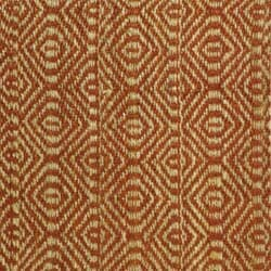 Hand-woven Arts Natural/ Rust Fine Sisal Rug (8' x 10')