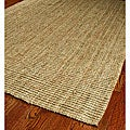 Hand-woven Weaves Natural-colored Fine Sisal Runner (2'6 x 8')