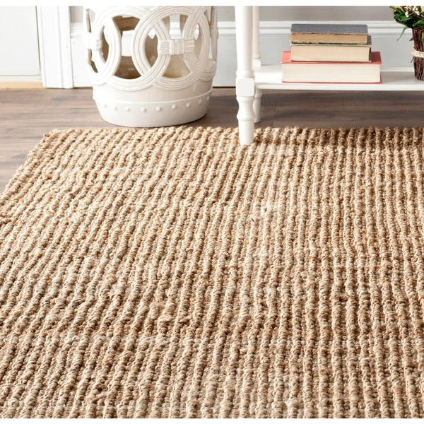 Safavieh Hand-Woven Natural Fiber Natural Accents Thick Jute Rug (3' x 5')
