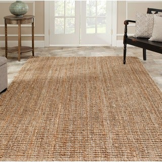 Safavieh Hand-woven Weaves Natural-colored Jute Rug (4' x 6')