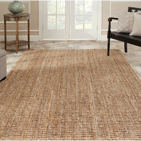 Safavieh Hand-Woven Natural Fiber Natural Accents Thick Jute Rug (4' x 6')