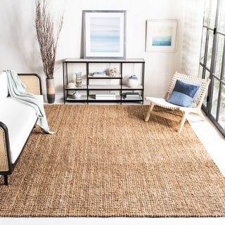 Safavieh Hand-woven Weaves Natural-colored Fine Sisal Rug (6' x 9')