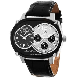 Joshua & Sons Men's Dual-Time Multifunction Quartz Watch