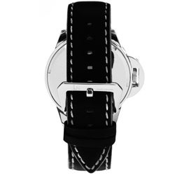 Joshua & Sons Men's 'Daredevil' Quartz Black Racer Watch