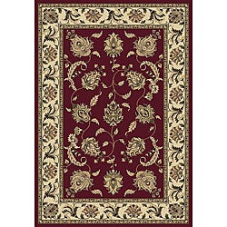 Anoosha Allover Kashan Red Rug (5'3 x 7'7)